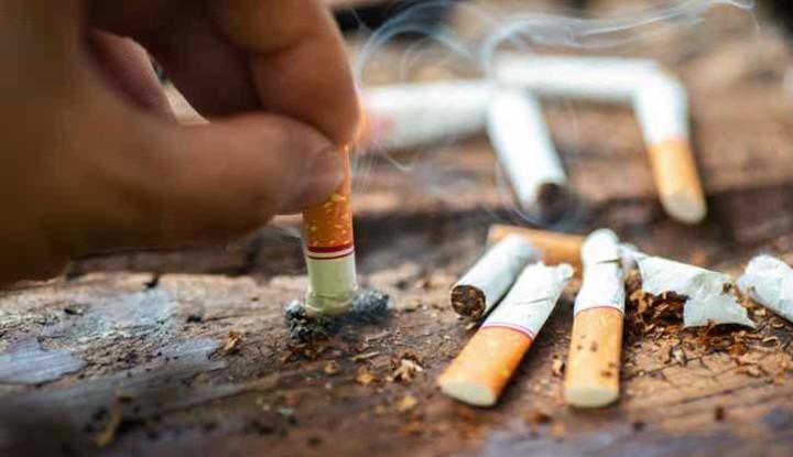 a cigaretta rossz felállítása