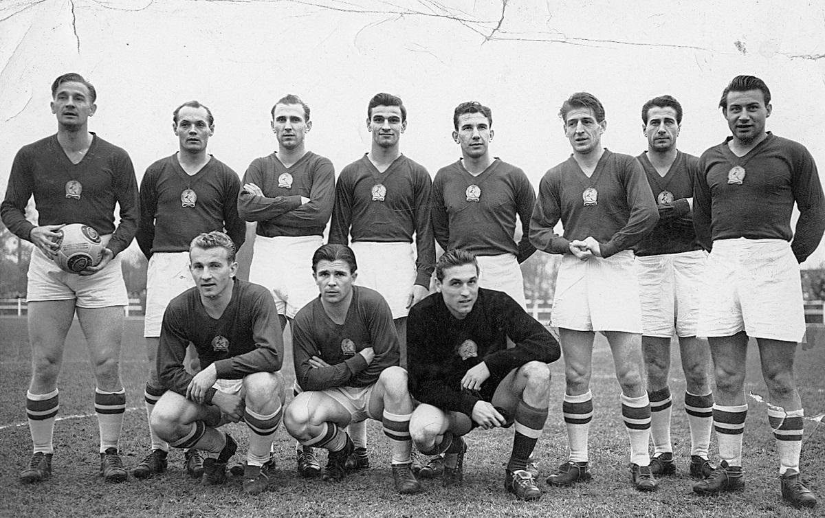 Az Aranycsapat 1953-ban.