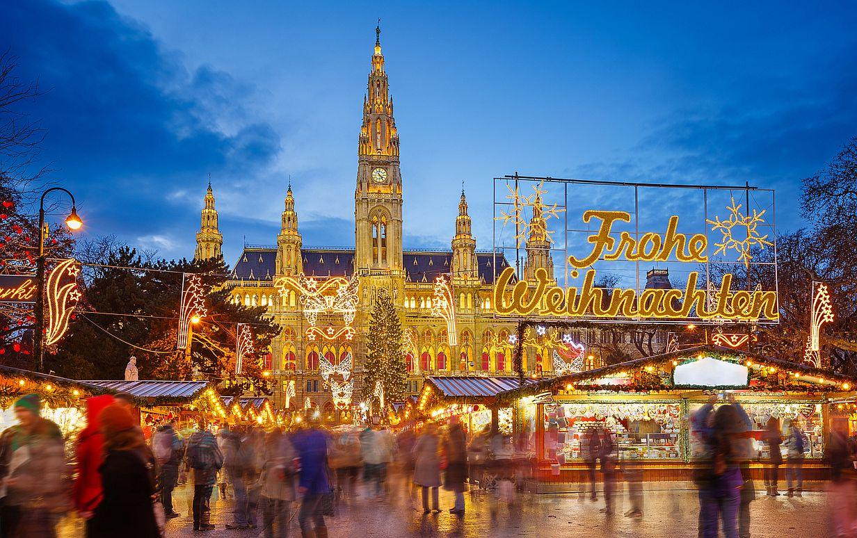 karácsony Bécs vásár Ausztria