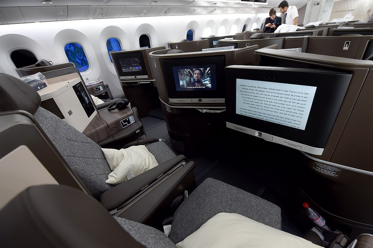 Budapest Airport Boeing 787-9 Dreamliner Tel Aviv