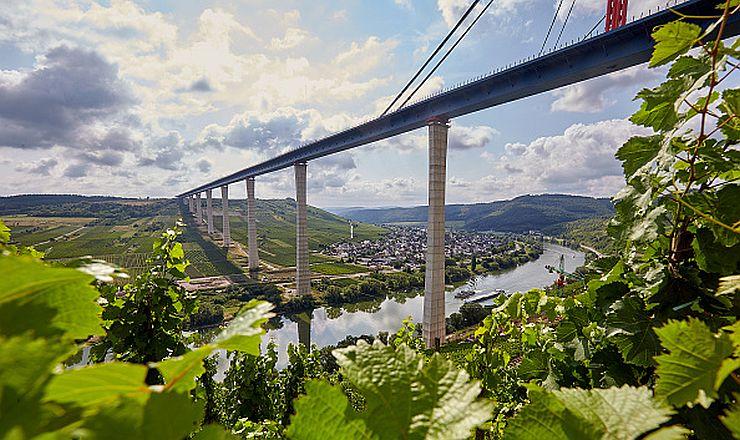 Mosel híd Németország Hochmoselbrücke