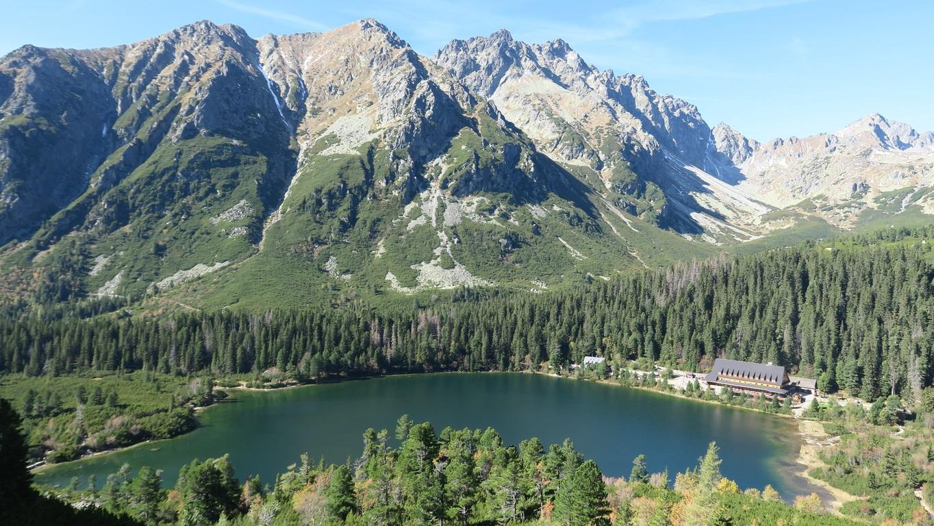a Poprádi tó