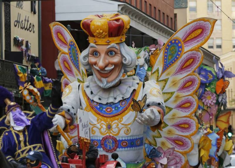 A louisianai nagyváros hagyományos húshagyókeddi karneváli ünnepségét, a Mardi Gras-t francia telepesek honosították meg.