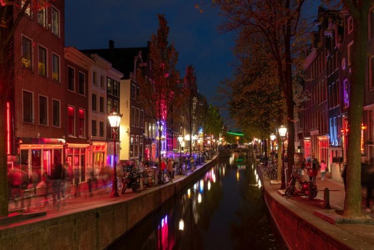 Vöröslámpás negyed, Amszterdam