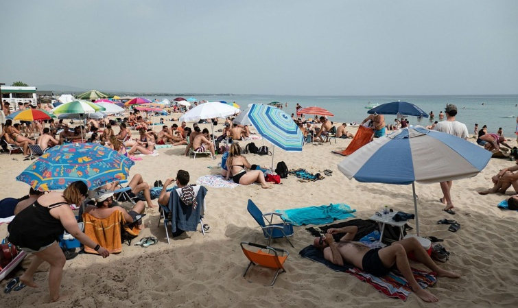 görögország tengerpart strand