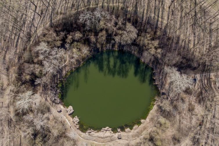 A nagyhegyesi Kráter-tó