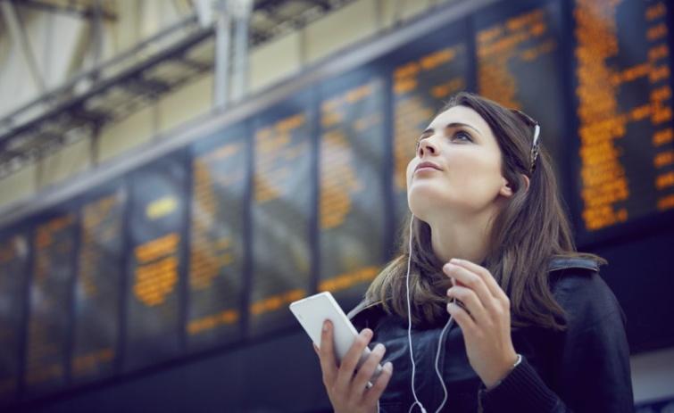 mobiltelefon vasútállomás