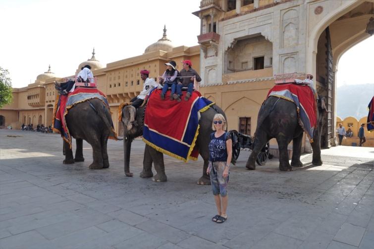 Az indiai Dzsaipurban.