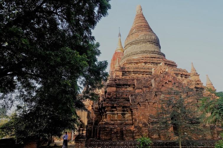 Sztúpa Burmában.