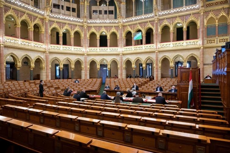 Regisztrációt követően ingyenesen, virtuális vezetéssel lehet megtekinteni az Országházat.