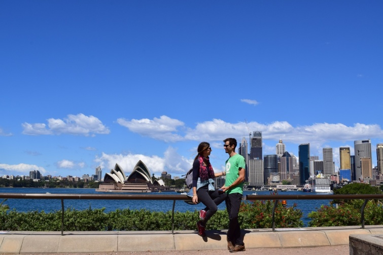 Dóráék Sydneyben.