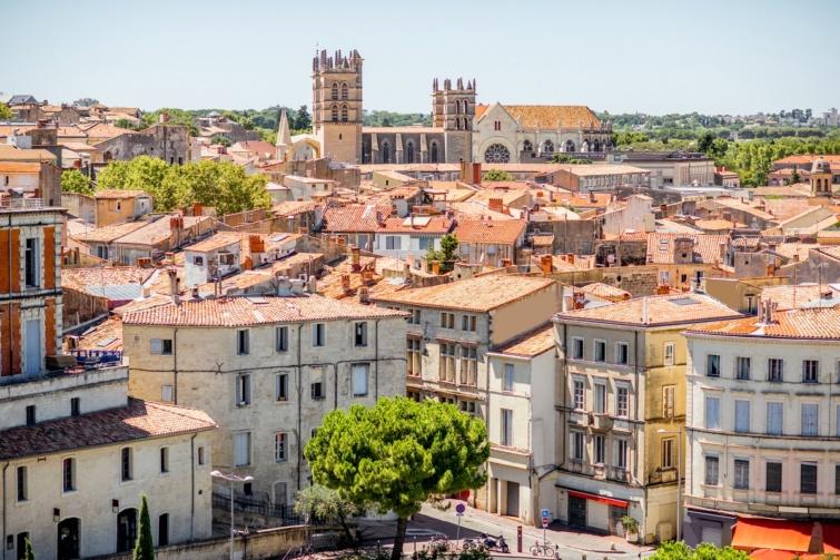 Montpellier látképe.