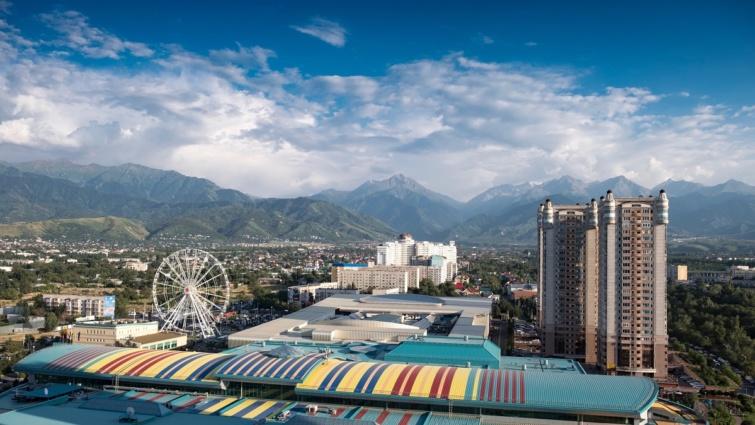 Almati, Kazahsztán.
