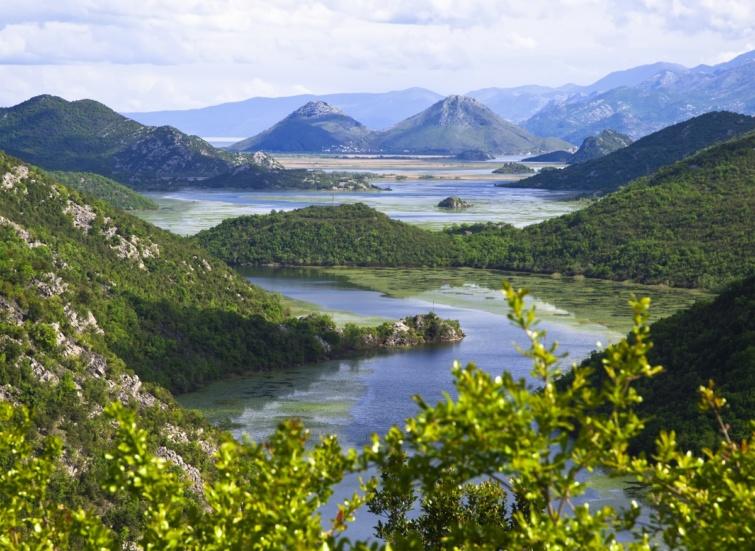 A Skaddar-tó környéke.