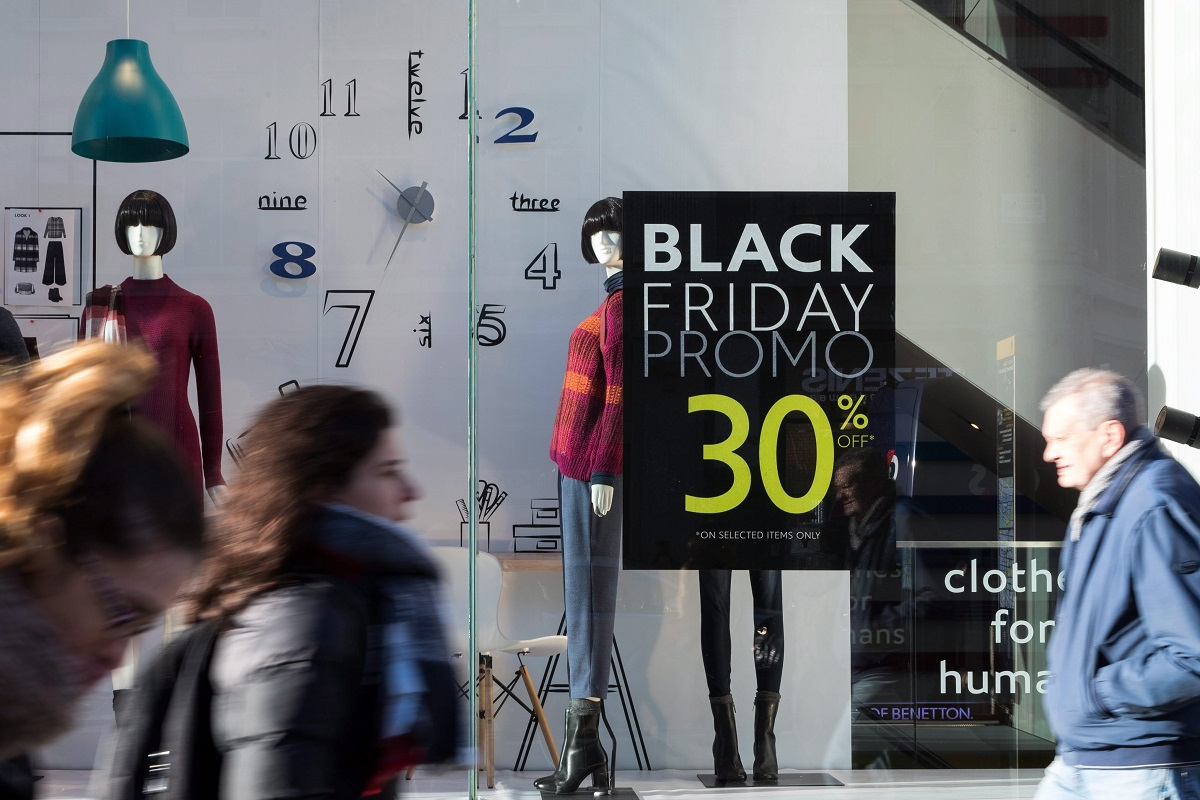 Black Friday Londonban