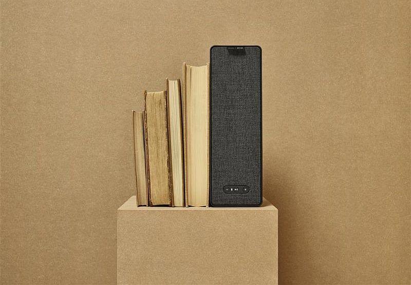 könyvespolc IKEA hangszóró