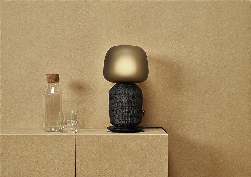 IKEA okosotthon lámpa hangszóró