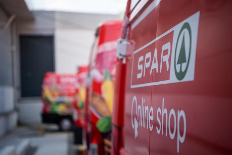 Spar, házhoz szállítás