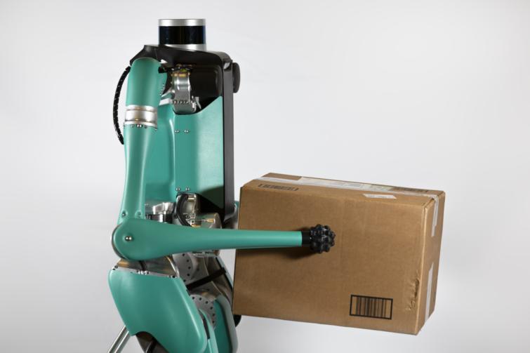 Csomagkézbesítő robot