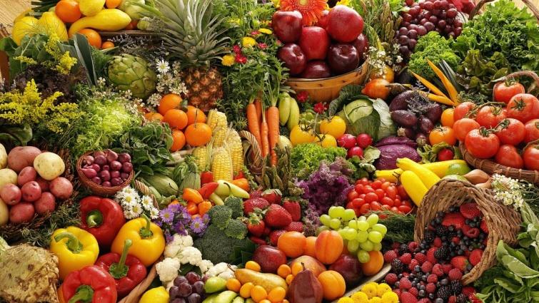 zöldség gyümölcs