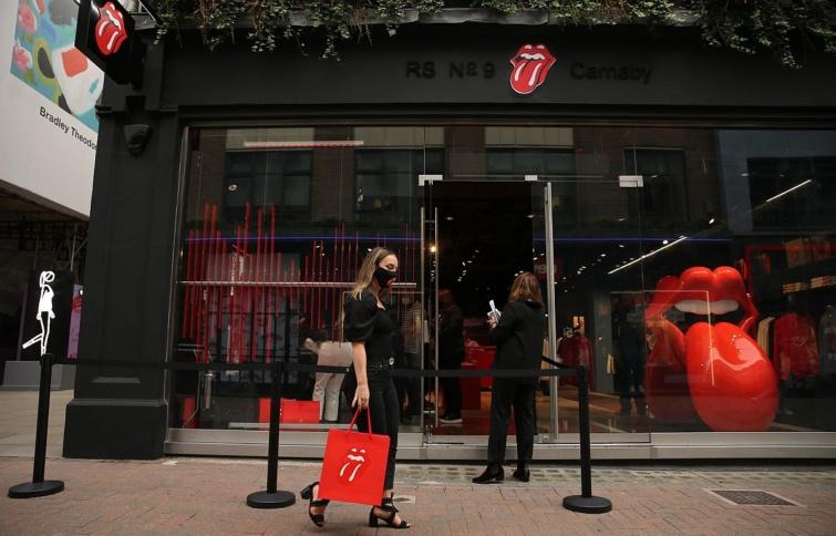 Megnyílik a Rolling Stones első boltja Londonban