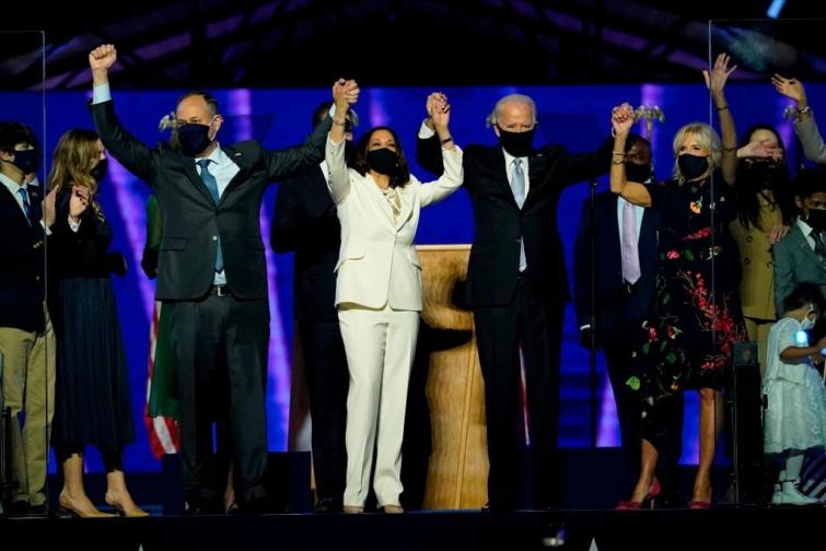 Joe Biden és Kamala Harris.