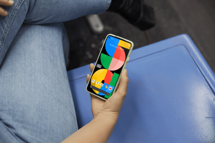 Google Pixel 5a 5G okostelefon